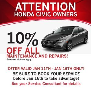 10% off all maintenance